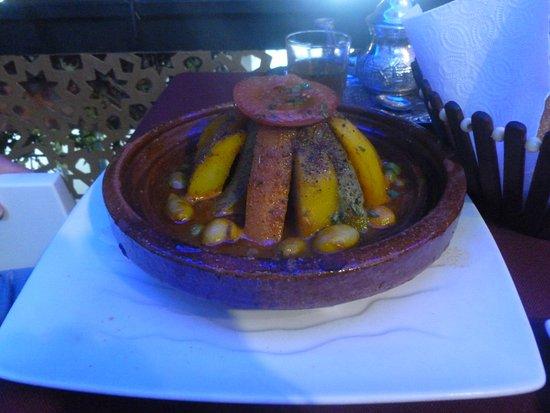 Restaurant Mabrouka: Chicken tagine