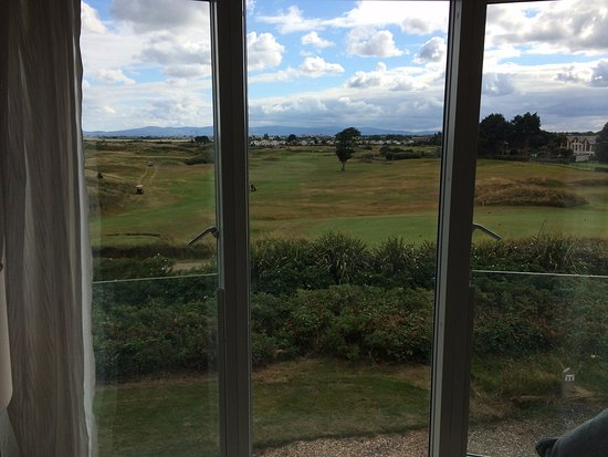 Portmarnock, Ireland: View from room looking out to Golf Course
