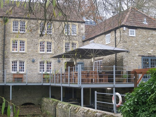 Frome, UK: Form the mil stream side