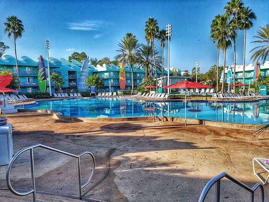 Picture of disney 39 s all star sports resort for Pool show in orlando 2016