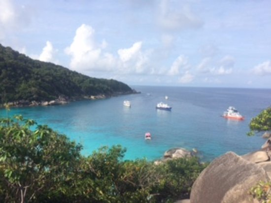 Choeng Thale, Thailand: Stop at Similan Islands