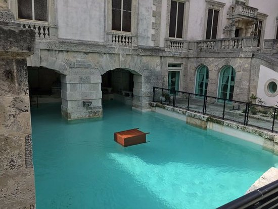 indoor outdoor swimming pool near the bowling alleys picture of vizcaya museum and gardens