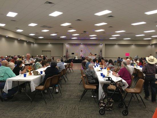 Gatesville, Teksas: Banquet Style