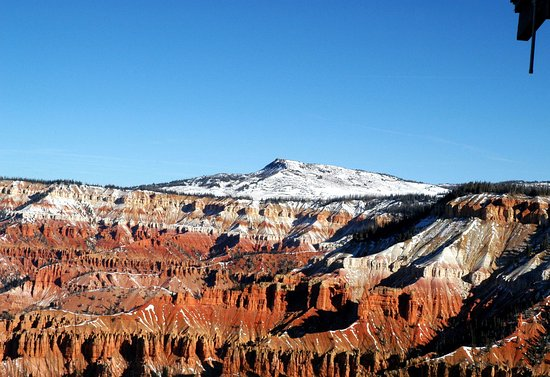 Cedar City, UT: Cedar Breaks November 2016. View from ranger station.