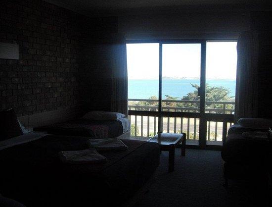 Kingscote, Australia: 3 beds with gorgeous view