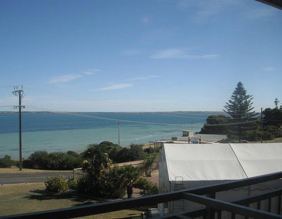 Kingscote, Australia: View from our room balcony