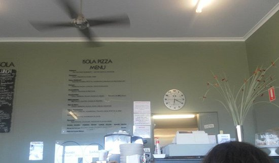 Penneshaw, Australië: Looking at the menu...