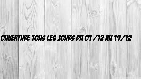 Aups, فرنسا: Horaire décembre 2016