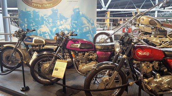 Beaulieu, UK: Lots of motor cycles