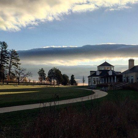 Middleburg, VA: Gorgeous morning at the Salamander!