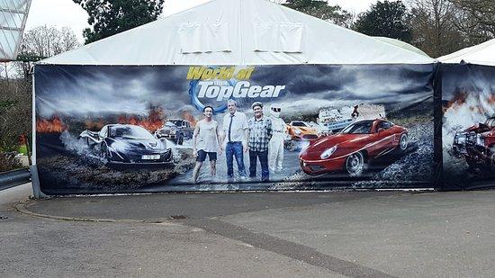 Beaulieu, UK: Top Gear Show Cars as seen on tv
