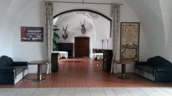 Hrotovice, Czech Republic: Prostory na zámku