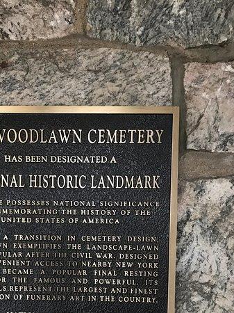 Woodlawn Cemetery: National Historical Landmark