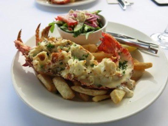Ulverstone, Australie : Crayfish thermidor