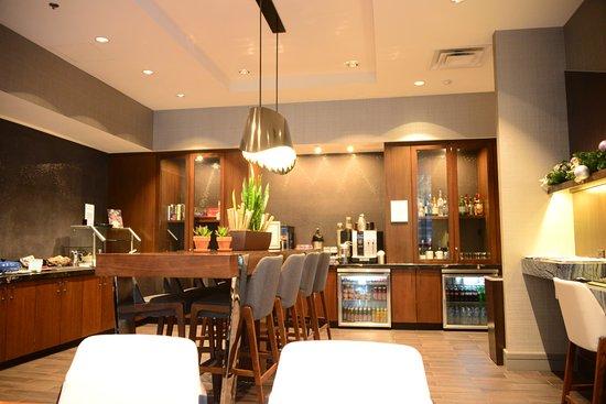 club lounge Picture of Hilton Richmond Downtown Richmond
