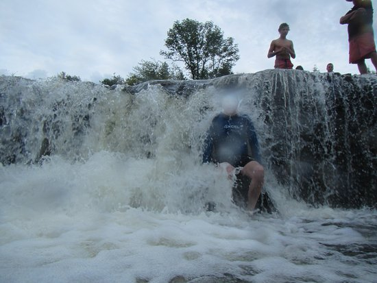 Sauble Falls Provincial Park: One you can sit in