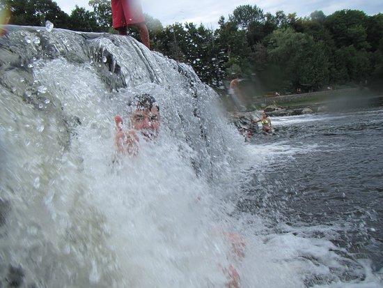 Sauble Falls Provincial Park: A larger falls you can jump off.