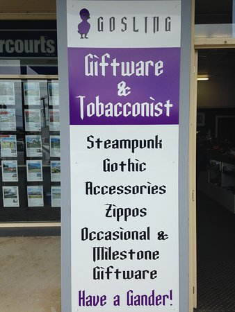 Deloraine, Australia: Gosling Giftware - Steampunk, Gothic, Accessories, Zippos