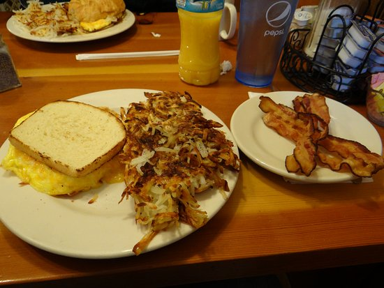 Big Horn Restaurant: gluten free breakfast sandwich