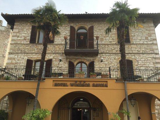 Hotel Windsor Savoia: Fachada