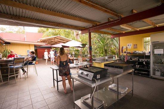 Agnes Water, Australia: Communal Kitchen
