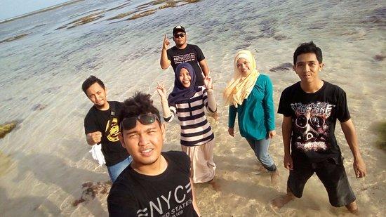 Nusa Dua Peninsula, Indonesia: Beach like a pool