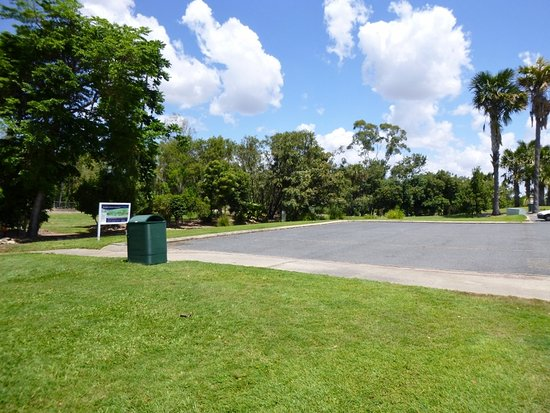 Kershaw Gardens: Carpark area
