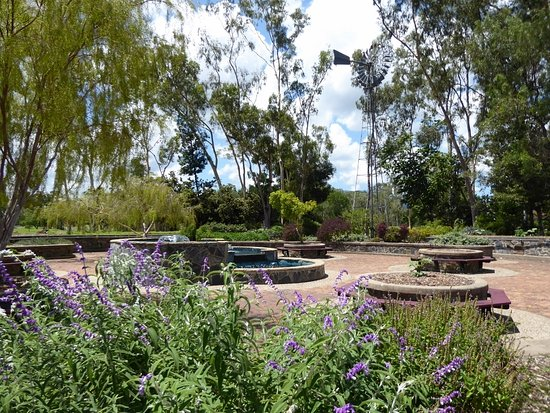 Kershaw Gardens: Garden area