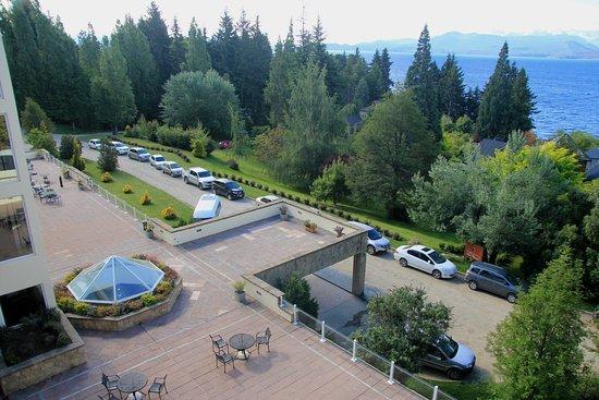 Villa Huinid Resort & Spa: Vista desde Habitación Superior c/Vista al Lago