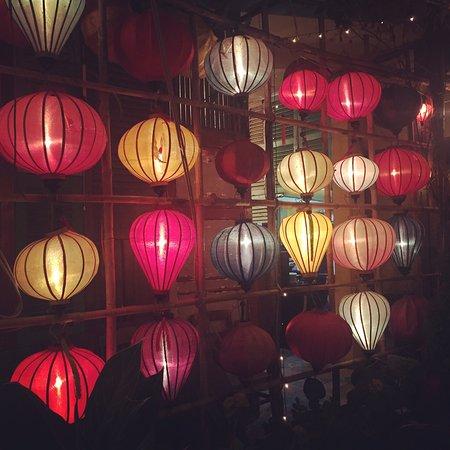 Secret Garden Home Cooked Vietnamese Restaurant Enchanting Paper Lanterns