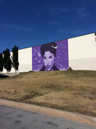 Graham H. of NewZealand created mural on Chanhassen Theater