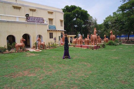 Indira Gandhi Rashtriya Manav Sangrahalaya: Lawns