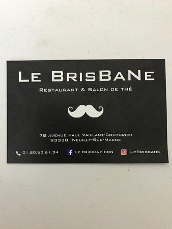 Le Brisbane Carte De Visite