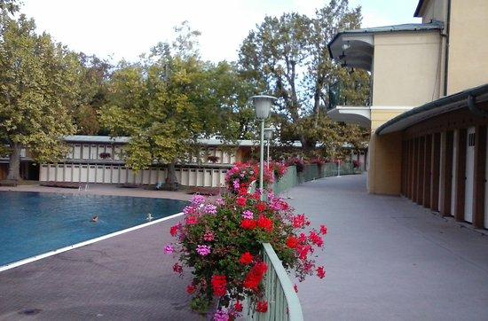 Bad Voeslau, Austria: im Thermalbad