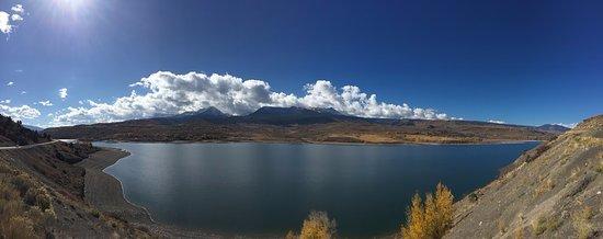 Heeney, Colorado: Green Mountain Reservoir seen from CO-9 