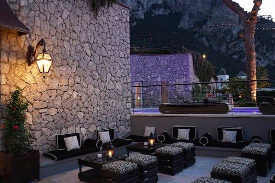 Villa Marina Capri Hotel & Spa: Bar Esterno realizzato nel 2016