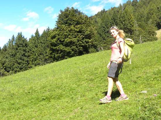 Dongo, Italien: Francesca Mai -  mid mountain guide  - founder of Hiking Como Lake