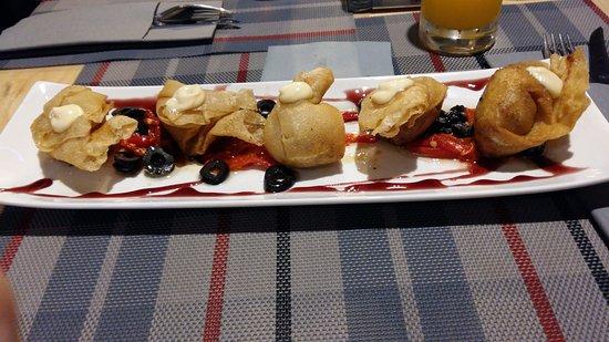 Province of Caceres, Espagne : Masa frita con escaso bacalao dorado