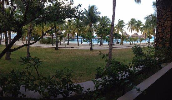 Conrad Bora Bora Nui: Garden view room