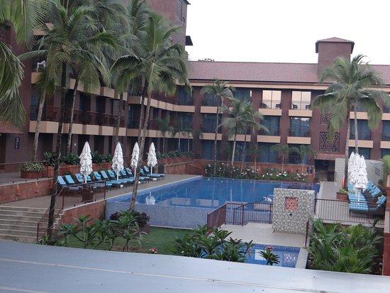 Anjuna, อินเดีย: every room has pool view here