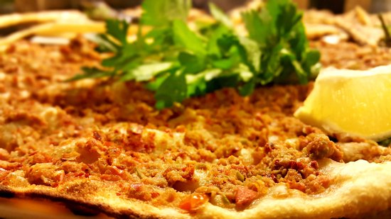etli ekmek picture of h m cag kebap