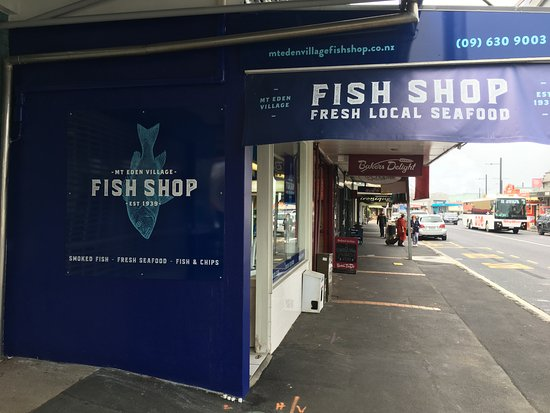 Mount Eden, Yeni Zelanda: Mt Eden Village Fish Shop