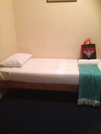 Hepburn Springs, Avustralya: This is the bed..