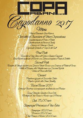 Caponago, İtalya: menu capodanno