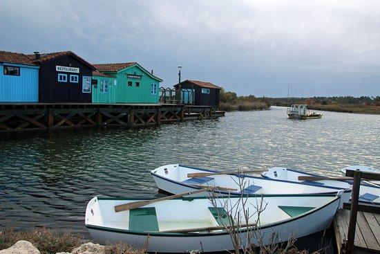 Le Grand-Village-Plage, Fransa: Cabanes port des salines: joli coin!
