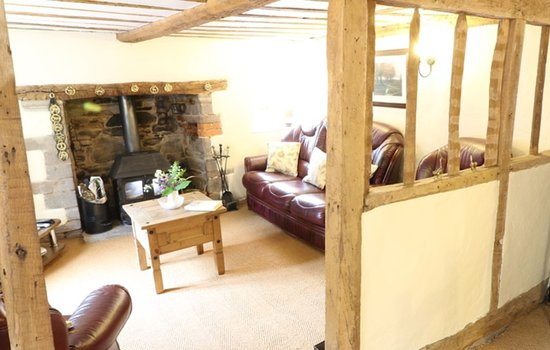 Poston Cottage cosy living room Picture of Poston Mill Holiday