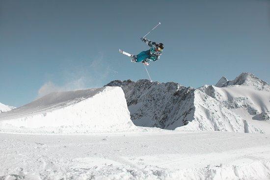 Skifahren in Stubai, Österreich Werbung, Wolfgang Zajc