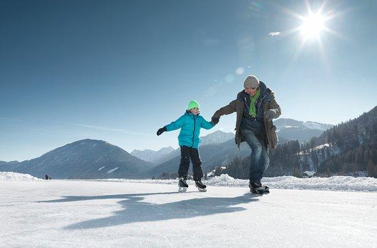 Eislaufen Weissensee, Österreich Werbung, Peter Burgstaller