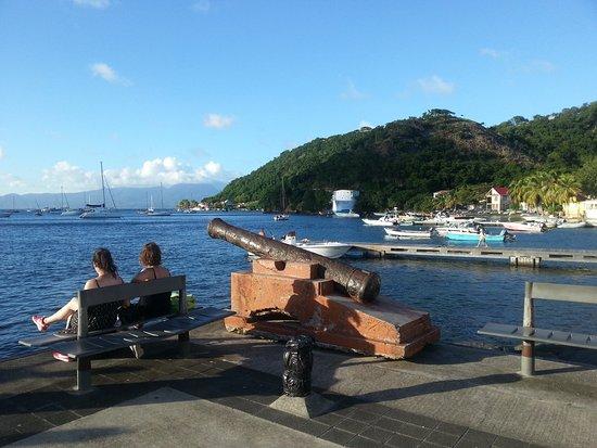 Terre-de-Haut, Guadeloupe: Arrivée à Terre de Haut...