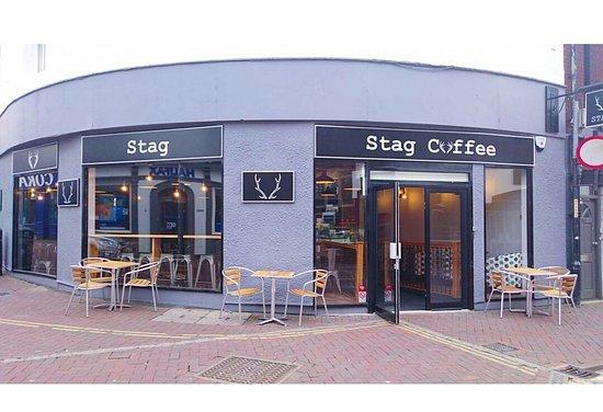 Stag Coffee opposite M&S on Ashford High Street